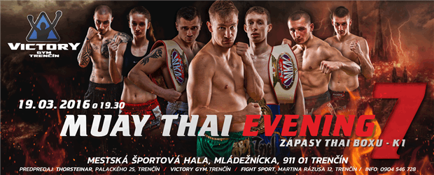 MUAY THAI EVENING 7 - Logo