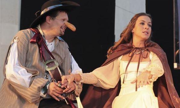 Cyrano, alebo Balábilé o Nose  (Túlavé divadlo) - Logo