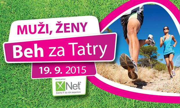 Beh za Tatry 2015 - Muži, Ženy - Logo