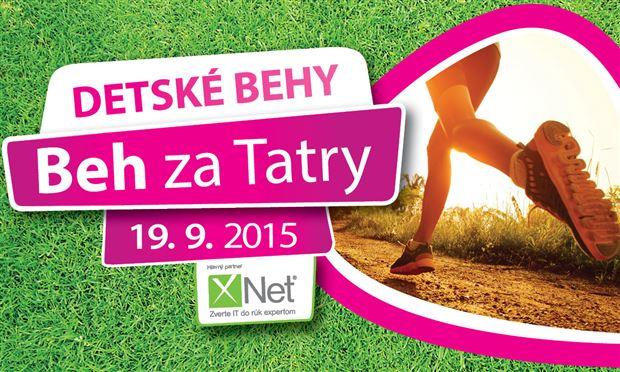 Beh za Tatry 2015 - Detské behy - Logo