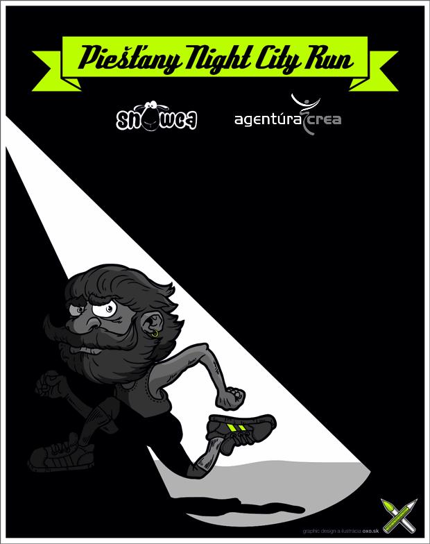 Piešťany Night City Run 2015 - Logo