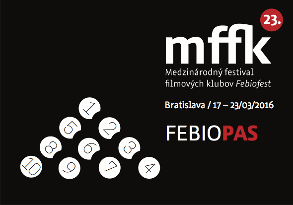 MFFK Febiofest 2016 - Logo