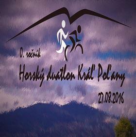 Horský duatlon - Kráľ Poľany 2016 - Logo