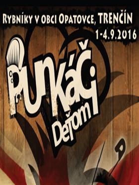 Festival Punkáči deťom 2016 - Logo