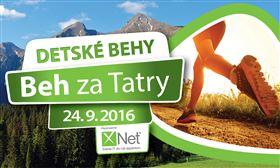 Beh za Tatry 2016 - Detské behy - Logo