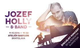 JOZEF HOLLY & BAND so sláčikovým kvintetom - Logo