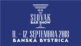 Slovak Bar Show 2018 - Logo