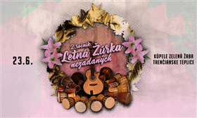 LASKATU LETNÁ ŽÚRKA NEZADANÝCH II. Ročník - Logo