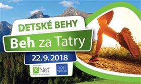 Beh za Tatry 2018 - Detské behy - Logo