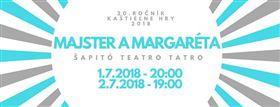 Majster a Margaréta - Logo