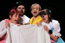 DETSKÉ PREDSTAVENIE – Veľkí herci malým deťom  2 (Divadlo Úsmev) - Logo