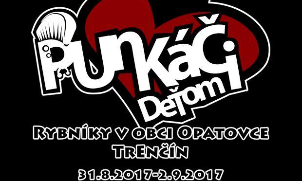 Festival Punkáči deťom 2017 - Logo