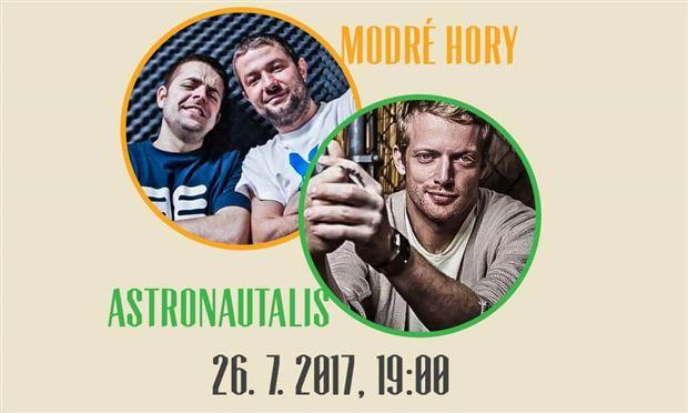 Modré Hory & Astronautalis [usa] - Logo
